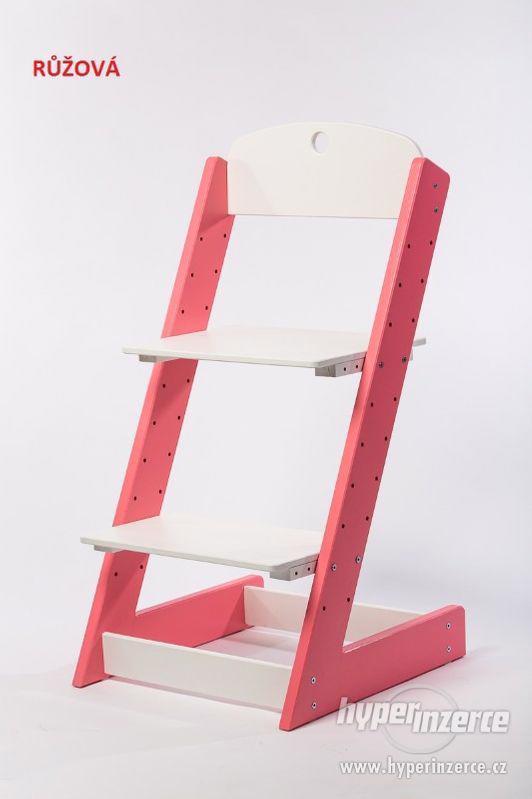 Rostoucí židle ALFA III - různá barevná kombinace - foto 2