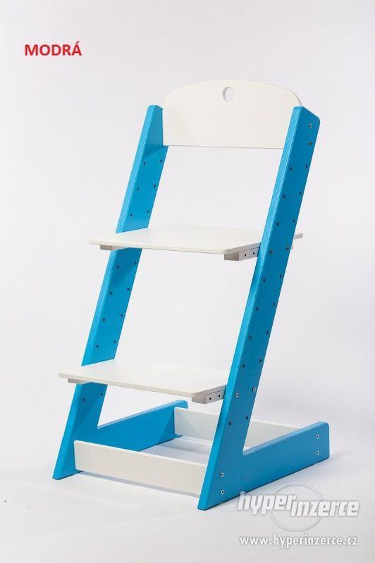 Rostoucí židle ALFA III - různá barevná kombinace - foto 3
