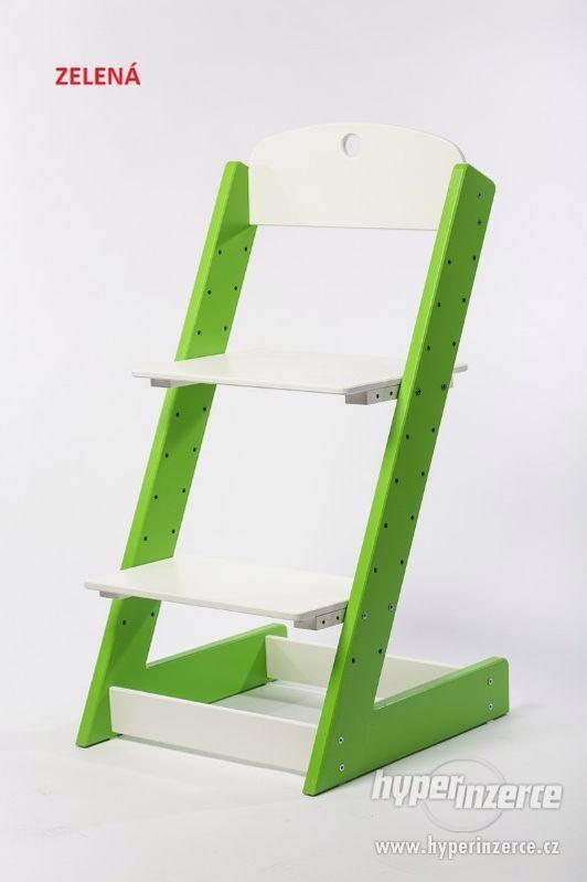 Rostoucí židle ALFA III - různá barevná kombinace - foto 4
