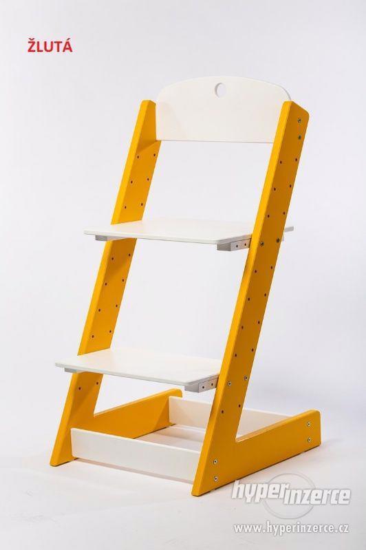 Rostoucí židle ALFA III - různá barevná kombinace - foto 5