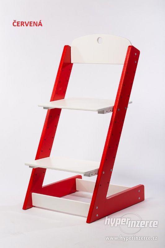 Rostoucí židle ALFA III - různá barevná kombinace - foto 6