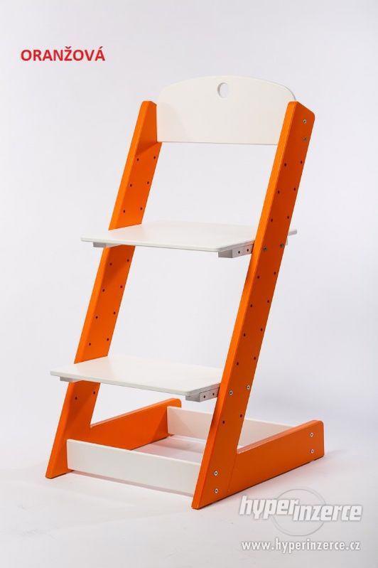 Rostoucí židle ALFA III - různá barevná kombinace - foto 7