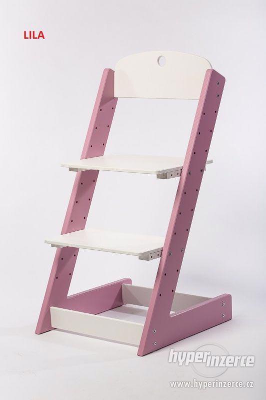 Rostoucí židle ALFA III - různá barevná kombinace - foto 8