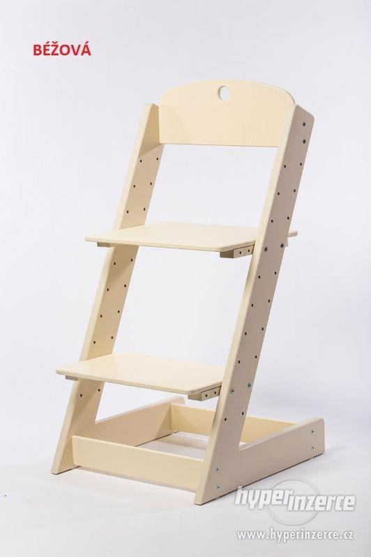 Rostoucí židle ALFA III - různá barevná kombinace - foto 9