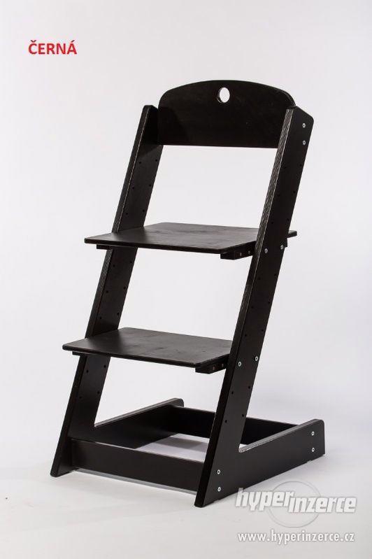 Rostoucí židle ALFA III - různá barevná kombinace - foto 10