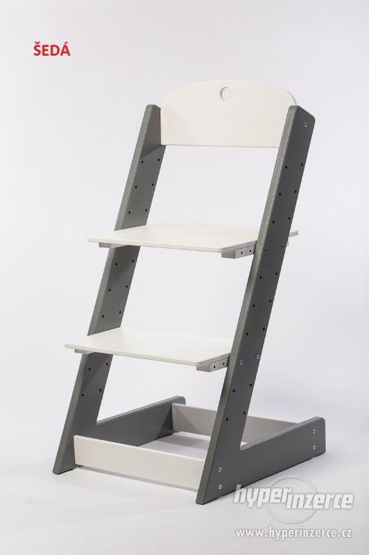 Rostoucí židle ALFA III - různá barevná kombinace - foto 11