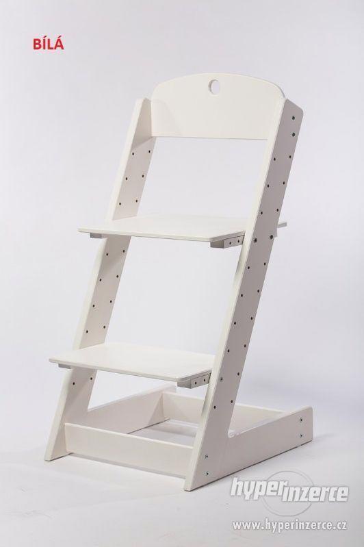 Rostoucí židle ALFA III - různá barevná kombinace - foto 12