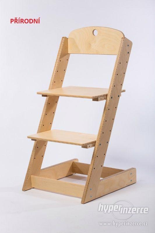 Rostoucí židle ALFA III - různá barevná kombinace - foto 13