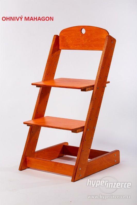 Rostoucí židle ALFA III - různá barevná kombinace - foto 14