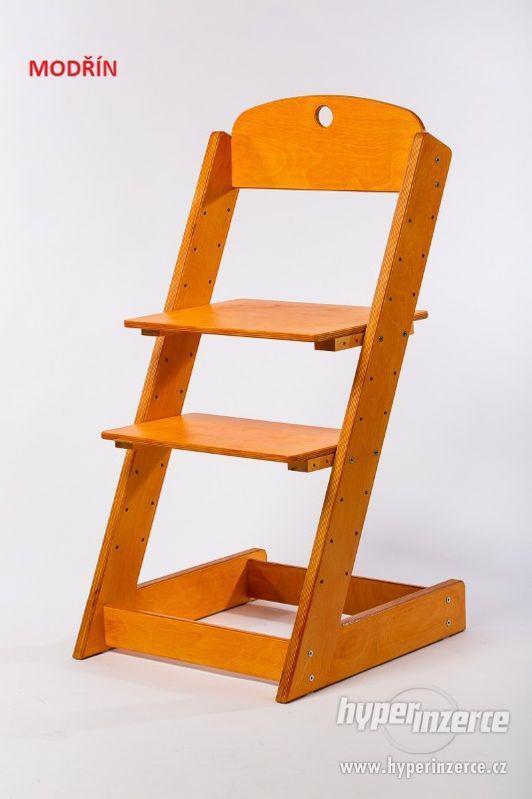 Rostoucí židle ALFA III - různá barevná kombinace - foto 15