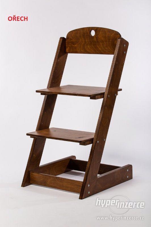 Rostoucí židle ALFA III - různá barevná kombinace - foto 16