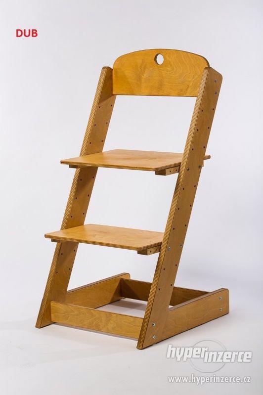 Rostoucí židle ALFA III - různá barevná kombinace - foto 17