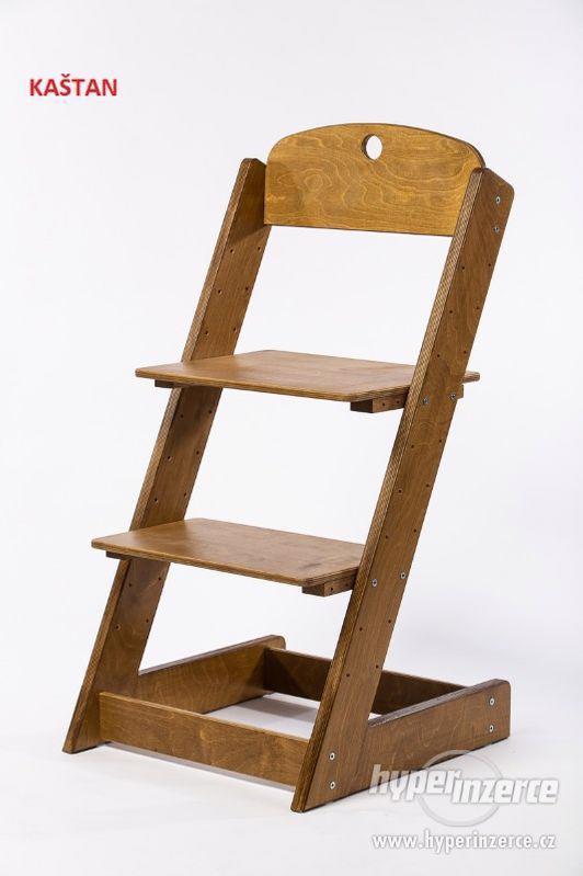 Rostoucí židle ALFA III - různá barevná kombinace - foto 18
