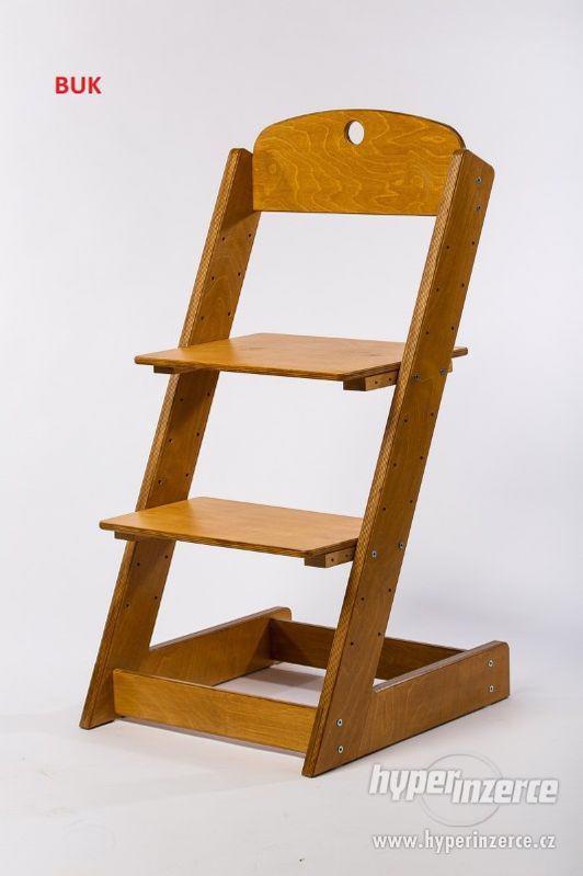 Rostoucí židle ALFA III - různá barevná kombinace - foto 19