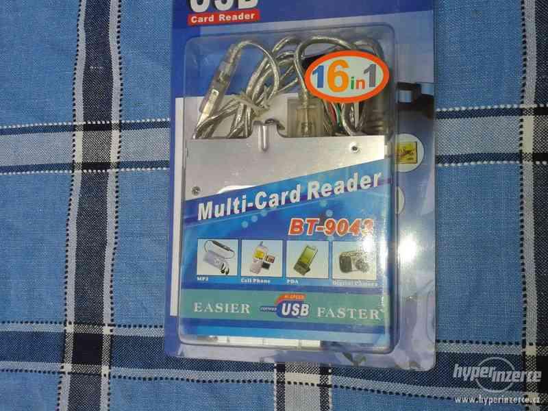Nepoužitá čtečka paměťových karet BT 9043USB.