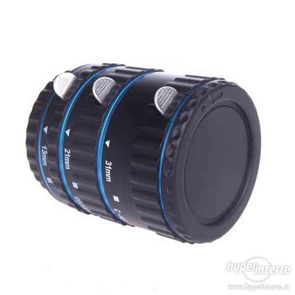 Canon EOS mezikroužky s PŘENOSEM různé barvy
