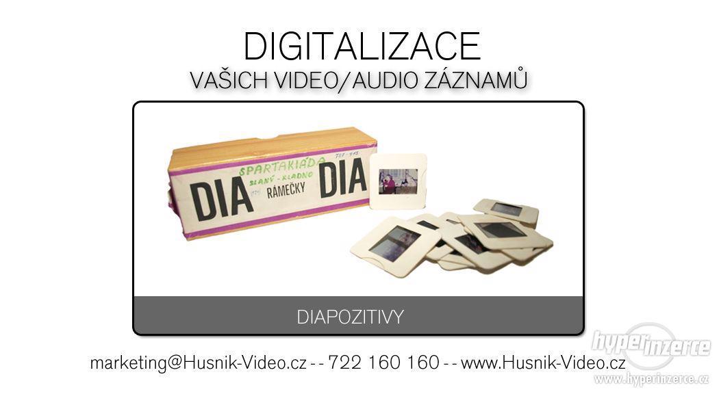 Skenování diapozitivu, negativu, kinofilmu na CD