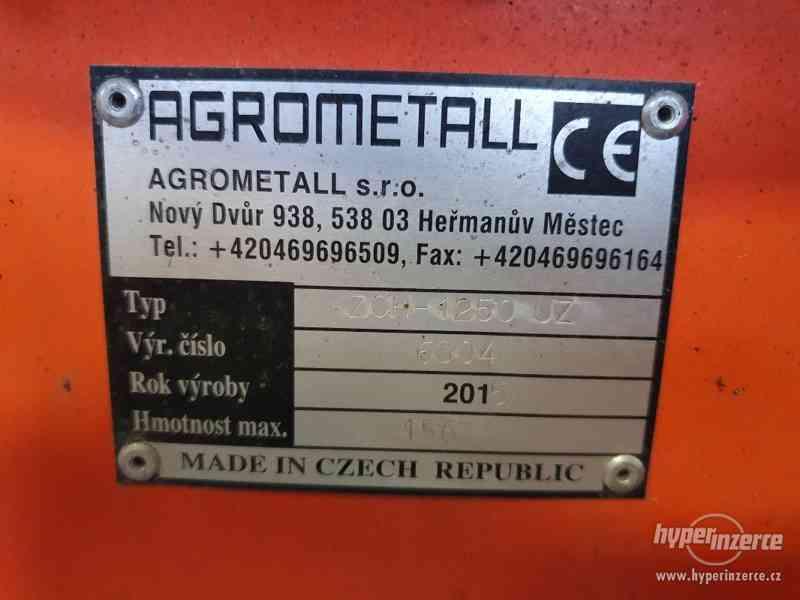 Zametač Agrometall ZCH-1250 UZ