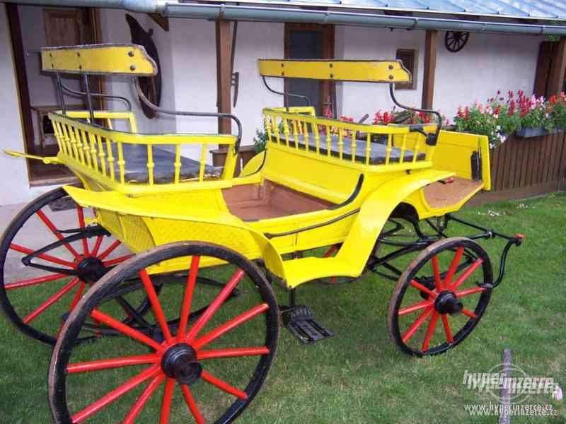 kočár za koně - foto 3