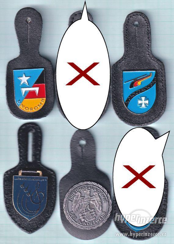 Kapsové odznaky prodám nebo vyměním
