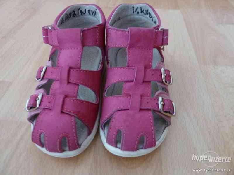 Dívčí sandále FARE velikost 25