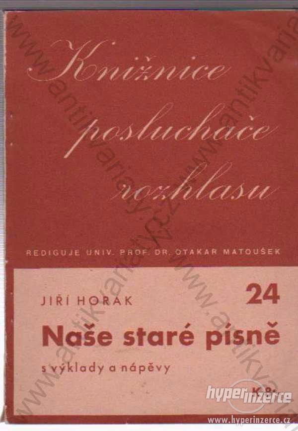 Knižnice posluchače rozhlasu - 24 Jiří Horák 1941