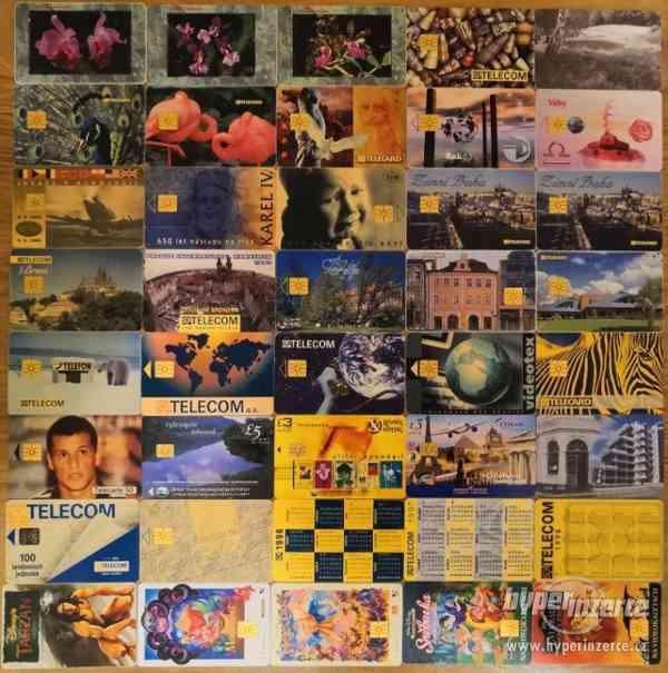 Telefonní karty - foto 2