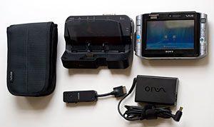 Prodám super plnohodnotný mini počítač Sony UX380n - foto 2