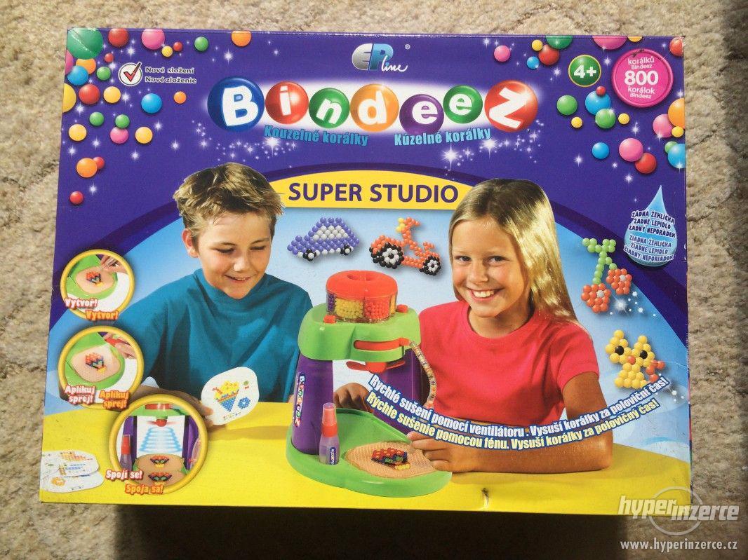 Prodám hru  BINDEEZ - kouzelné korálky, - foto 1