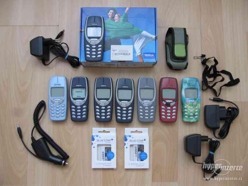 Nokia 3310 - plně funkční telefony z r.2001