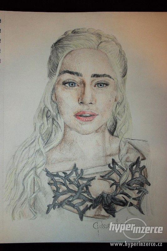 Kresba portrétů