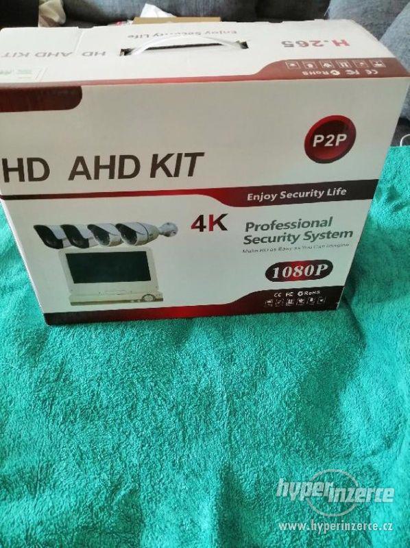 Bezpečnostní 4-kamerový AHD komplet set+ - foto 2
