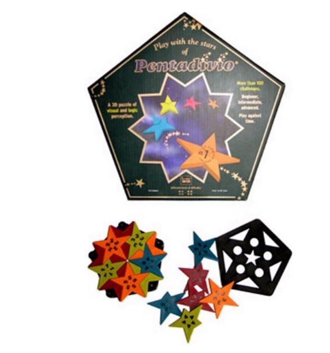 Pentadivio Puzzle - 3D hvězda - foto 1