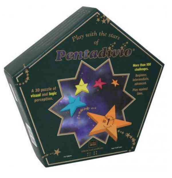 Pentadivio Puzzle - 3D hvězda - foto 2