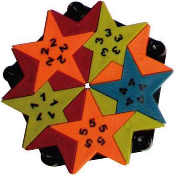 Pentadivio Puzzle - 3D hvězda - foto 4