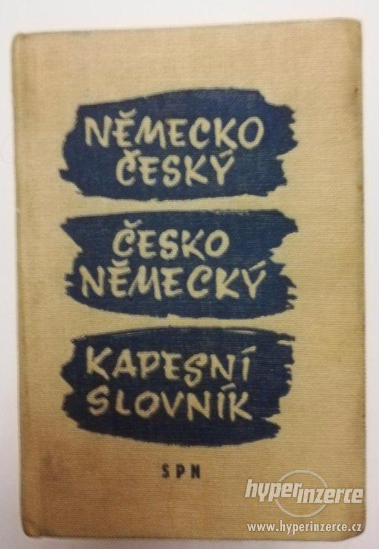 Česko německý slovník - foto 1
