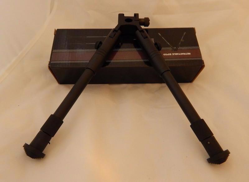 Bipod Dvojnožka na lištu 22mm výška 22 - 26cm Telescop     B - foto 3