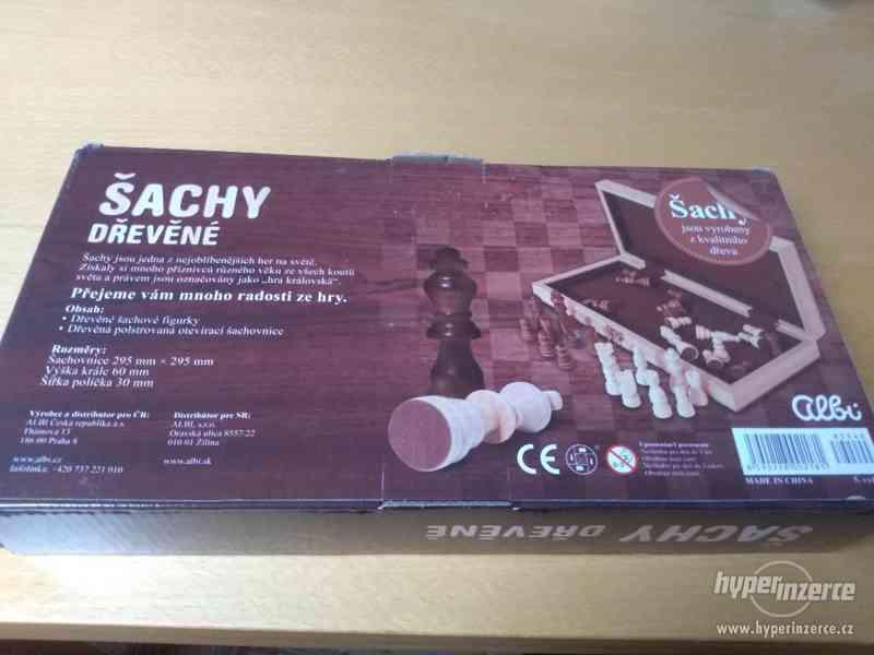 Dřevěné šachy - Albi