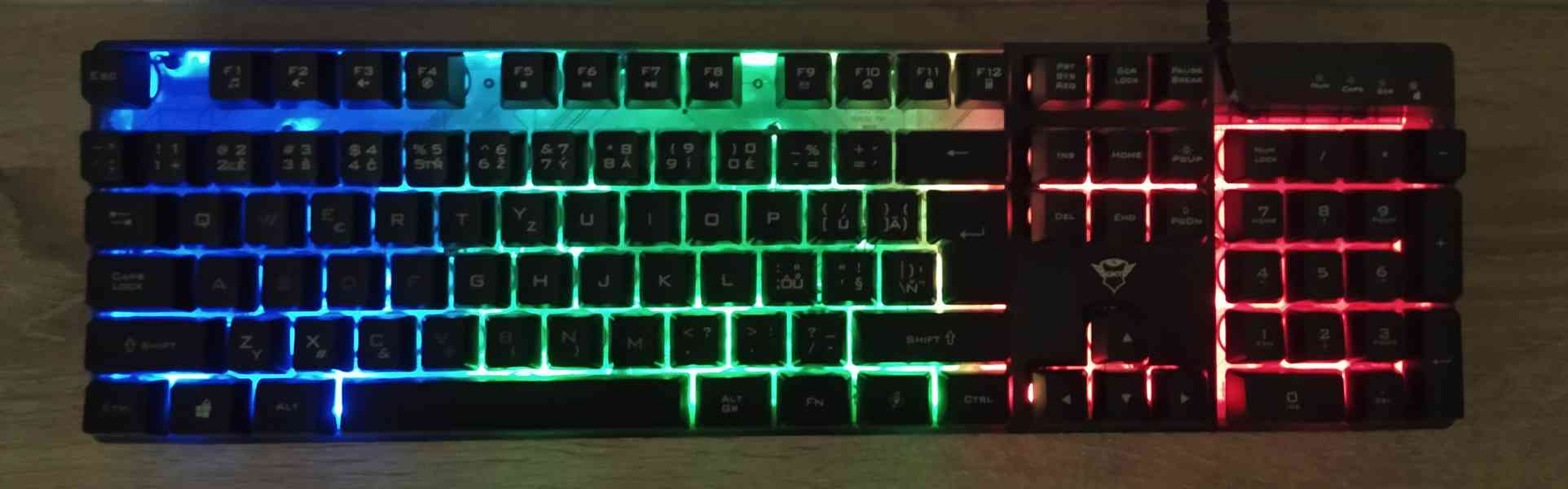 Herní klávesnice - foto 1