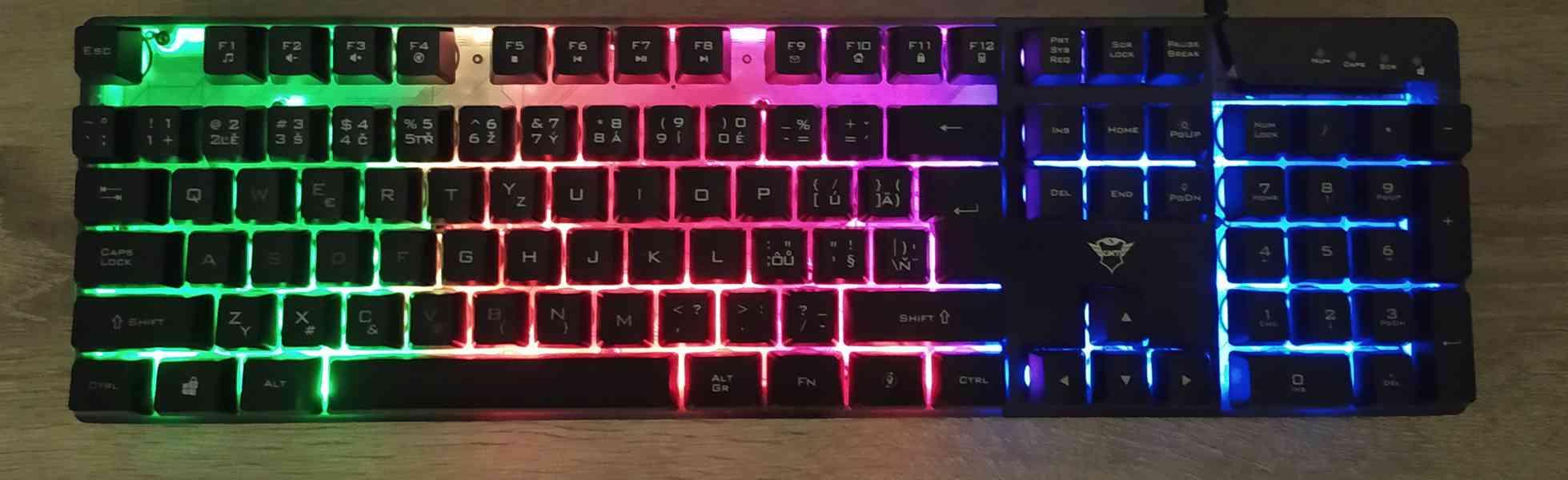 Herní klávesnice - foto 2