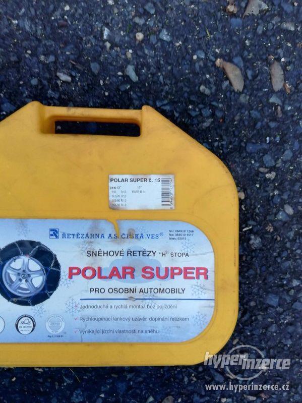 Prodám sněhové řetězy Polar super