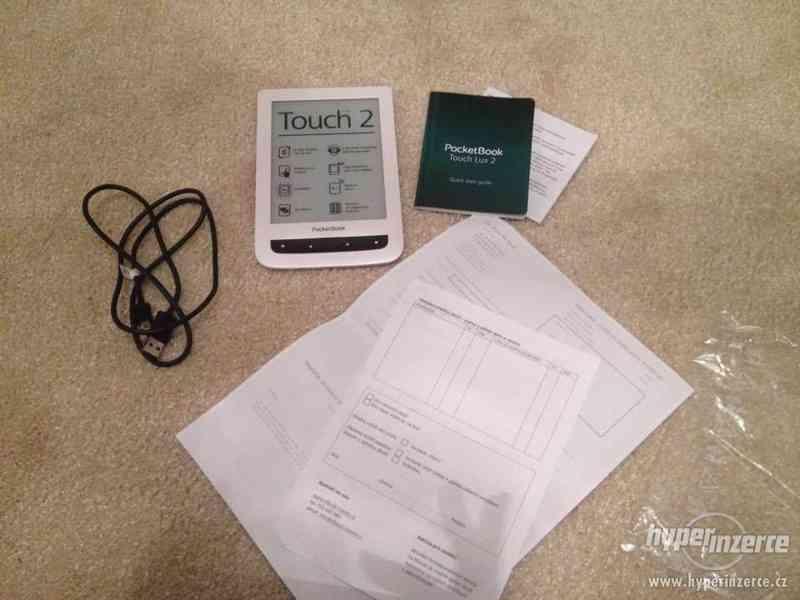 Prodám použitou čtečku PocketBook Touch Lux 2
