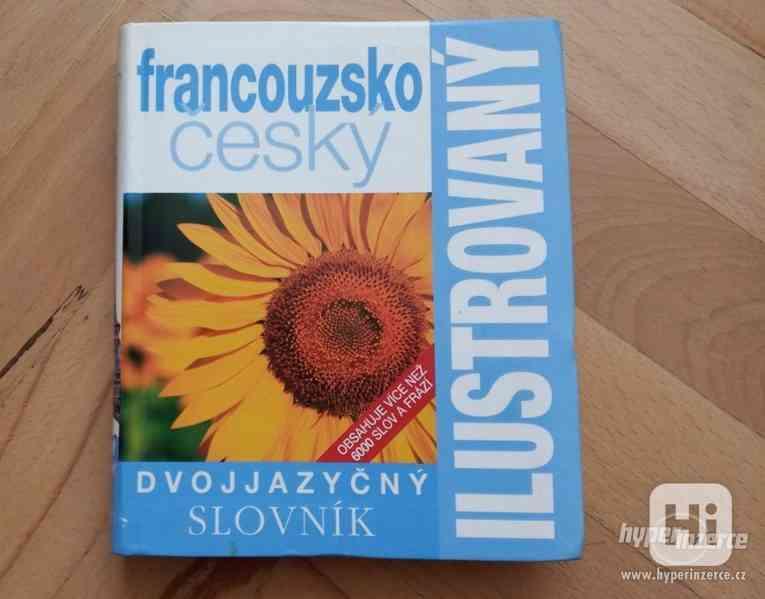 Francouzsko-český slovník ilustrovaný dvojjazyčný  - foto 1