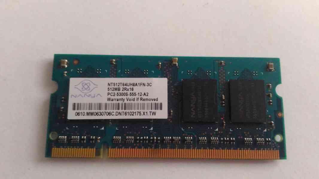 NTB Ram 512 MB