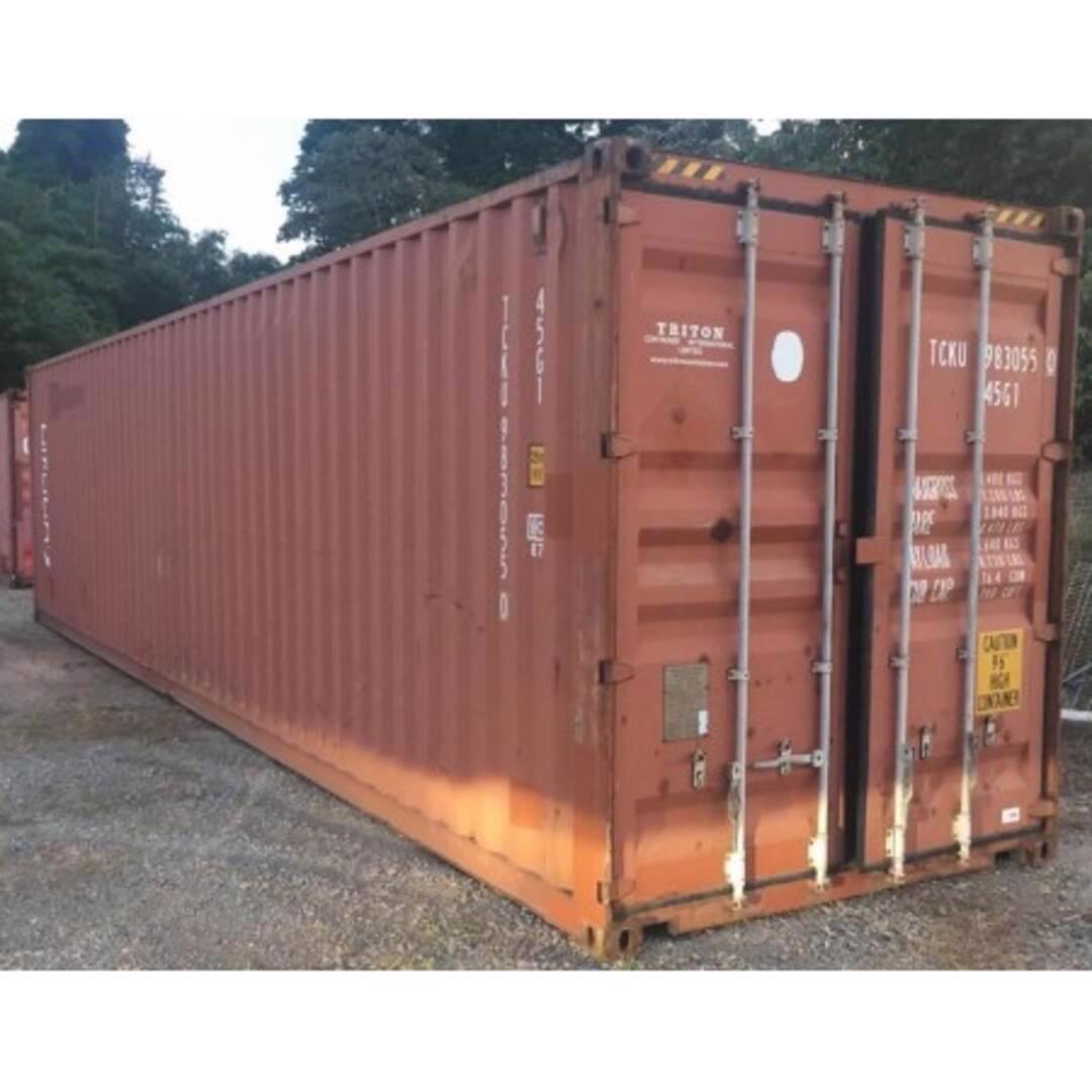 Prodej použitého kontejneru ve velmi dobrém stavu.  - foto 1