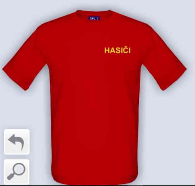 Dětské tričko - Hasiči