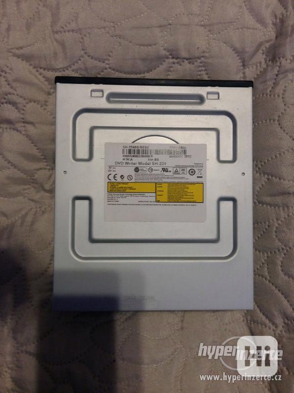2x DVD vypalovačka + čtečka paměťových karet