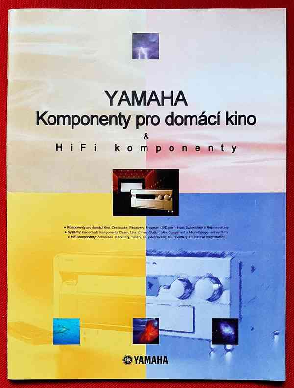 Katalog YAMAHA  98/99