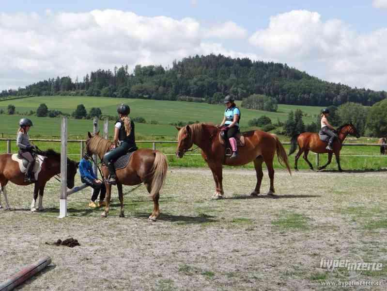 Prázdniny s koňmi- Tábor Koně v Trní - foto 3