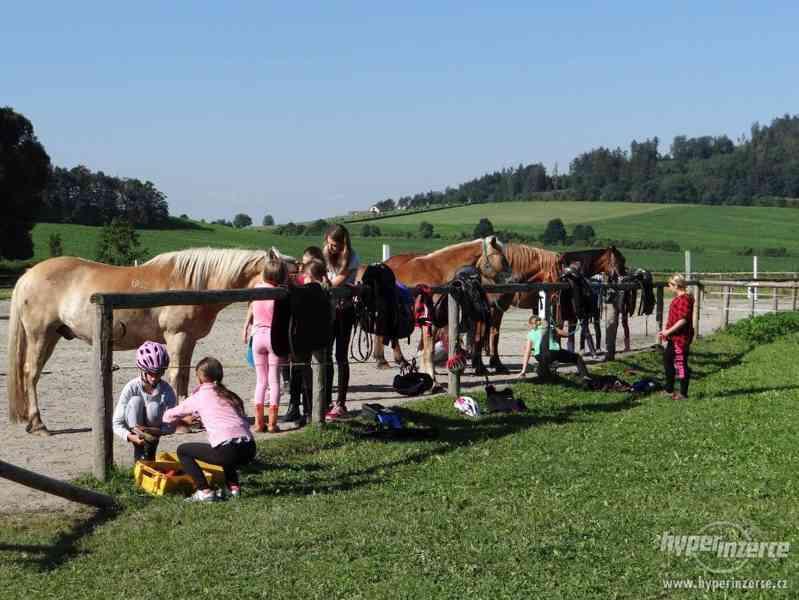 Prázdniny s koňmi- Tábor Koně v Trní - foto 6